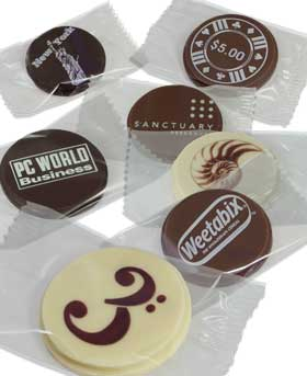 Promotional Chocolate Circles