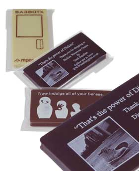 Promotional Chocolate Business Cards